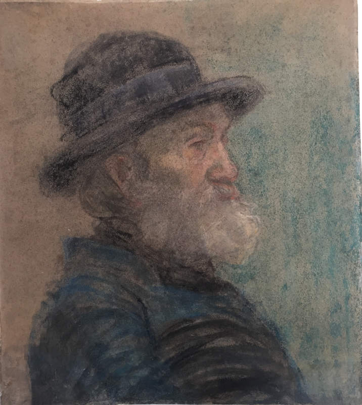 Auto-portrait de profil