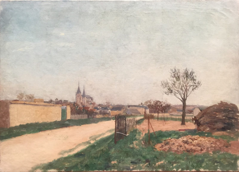 La route a Poissy