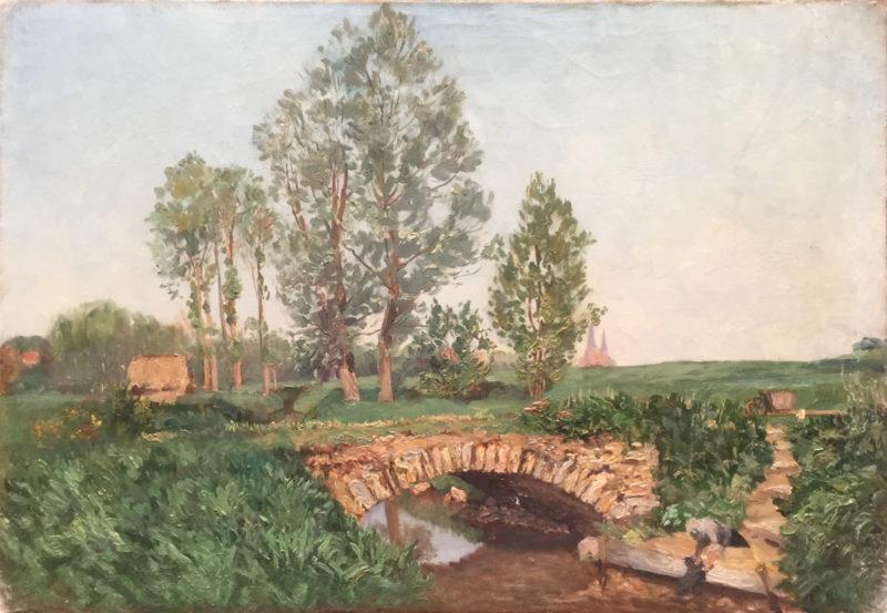 Pont et arbres