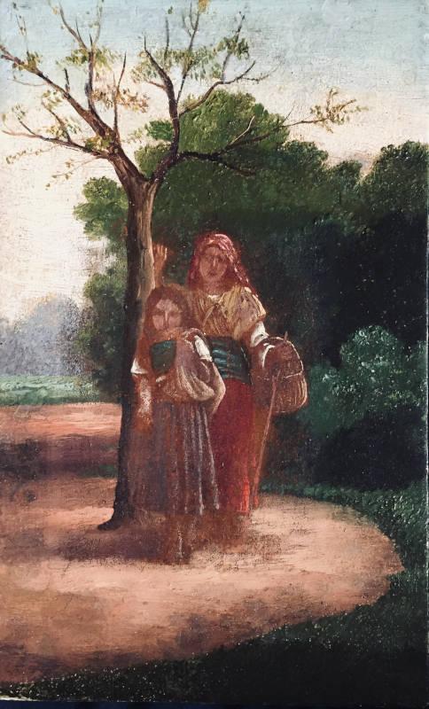 Ruth et Néomi glanant